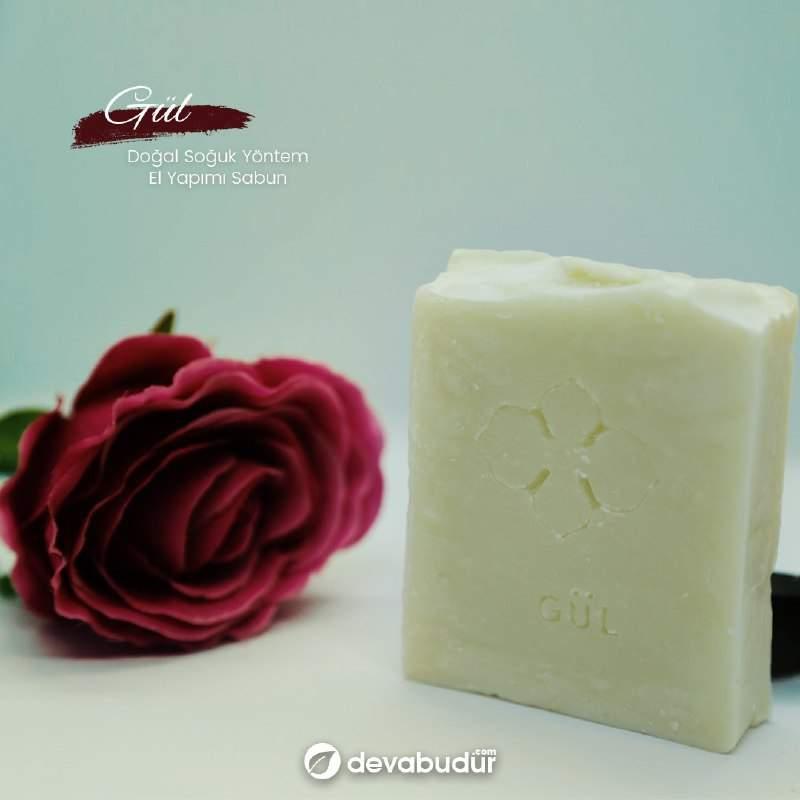 Doğal Gül Sabunu 125 Gr