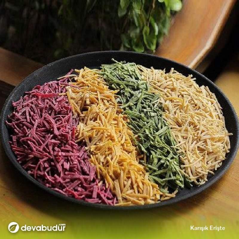 Sebzeli (Karışık) Erişte 1 KG