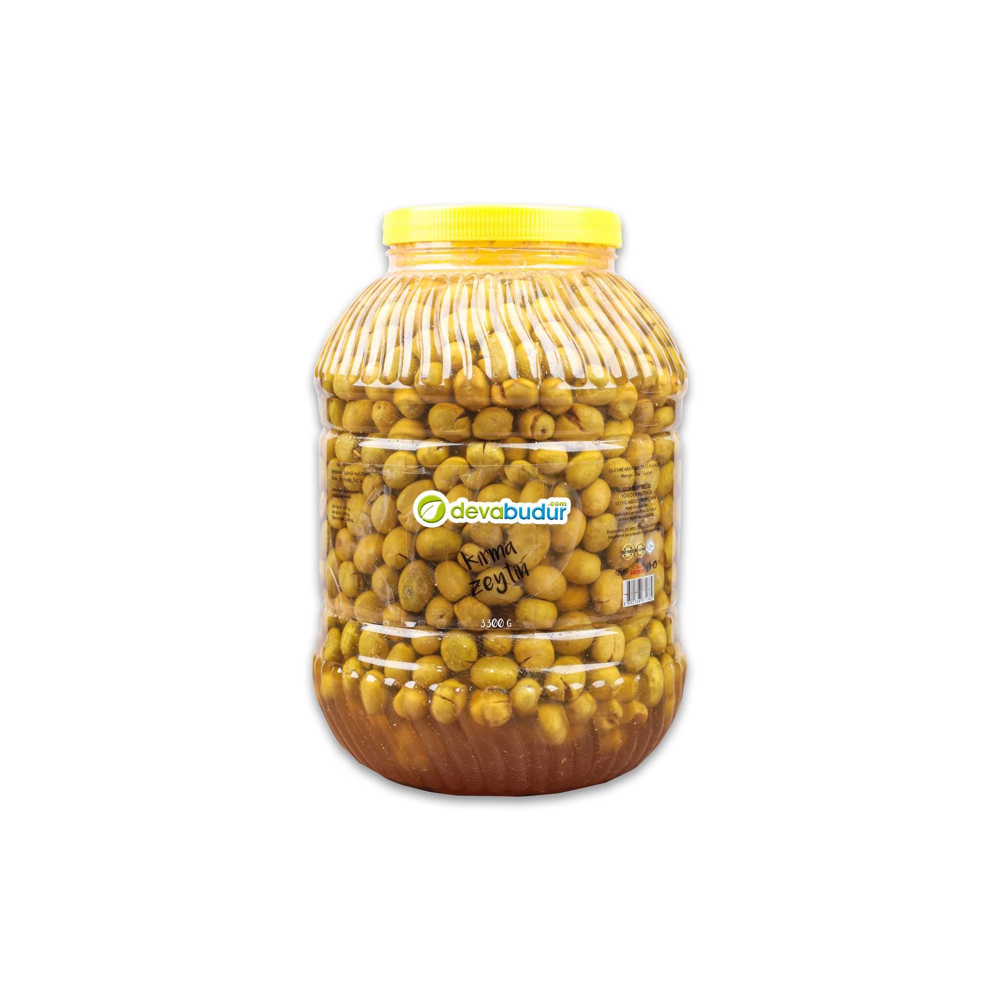 Yeşil Zeytin 3,300 gr